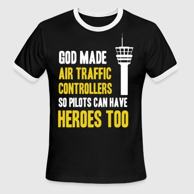 Air Traffic Controllers Shirt - Men's Ringer T-Shirt