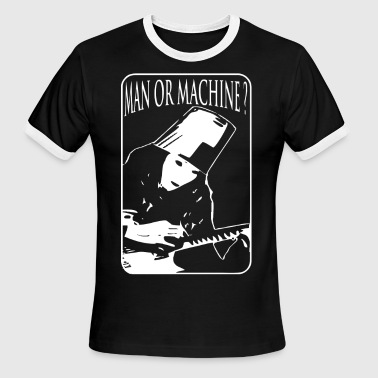 Buckethead Hommage - Men's Ringer T-Shirt