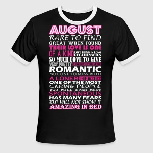 August Rare To Find Romantic Amazing To Bed - Men's Ringer T-Shirt