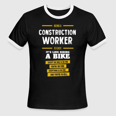 Construction worker - Men's Ringer T-Shirt
