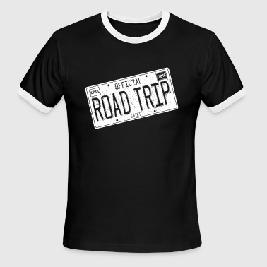 Road Trip 2016 Shirts - Men's Ringer T-Shirt