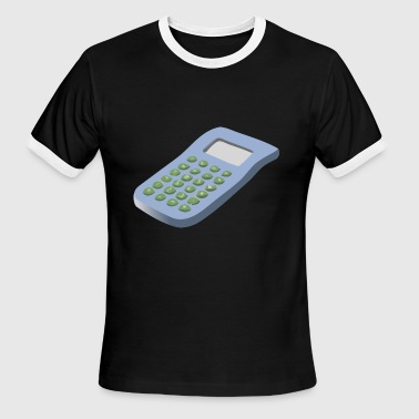 calculator - Men's Ringer T-Shirt