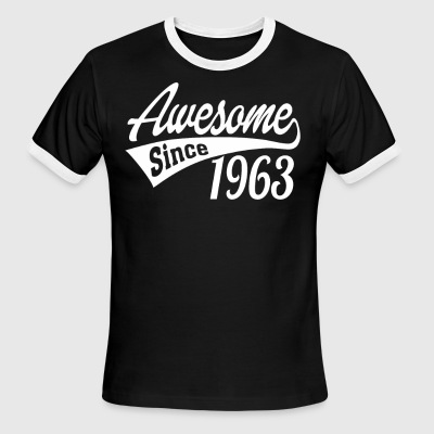 Awesome Since 1963 - Men's Ringer T-Shirt