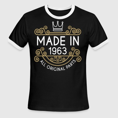 Made In 1963 All Original Parts - Men's Ringer T-Shirt