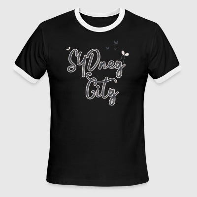 SYDney city - Men's Ringer T-Shirt
