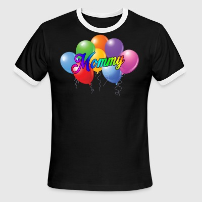 Balloons Shirt - Balloons Mommy T-Shirt - Men's Ringer T-Shirt
