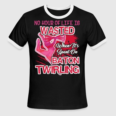 Baton Twirling T Shirts - Men's Ringer T-Shirt
