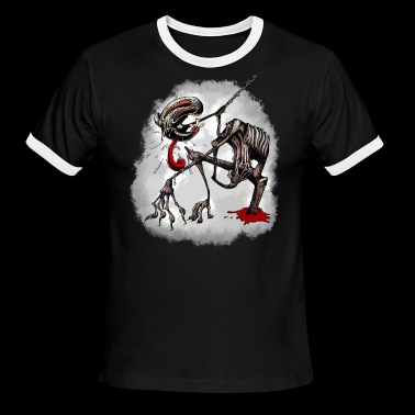 Fido the Monster - Men's Ringer T-Shirt