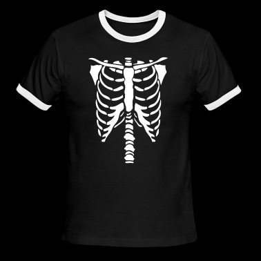 Halloween Skeleton - Men's Ringer T-Shirt