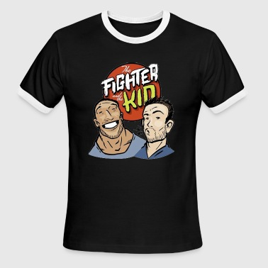 The fighter and the kid - Men's Ringer T-Shirt