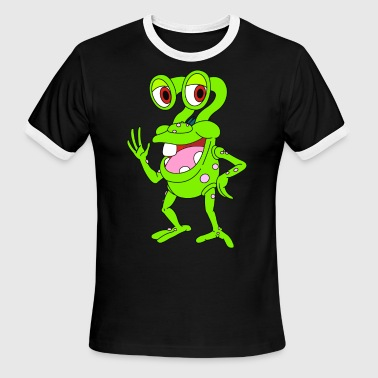 Mr Frog - Men's Ringer T-Shirt