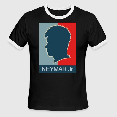 NEYMAR JR ( BARCELONA ) - Men's Ringer T-Shirt
