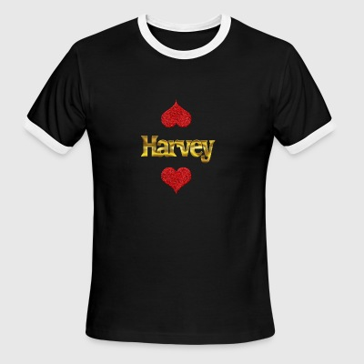 Harvey - Men's Ringer T-Shirt