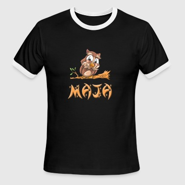 Maja Owl - Men's Ringer T-Shirt