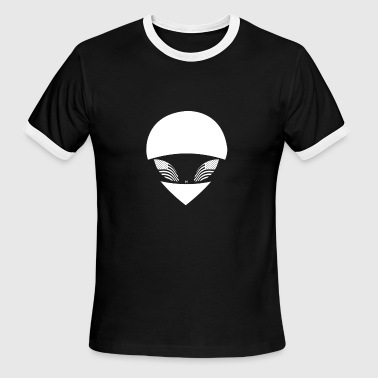 Riot at the Dojo - Alien America - Men's Ringer T-Shirt