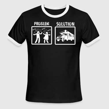 Problem Solution Rving - Men's Ringer T-Shirt