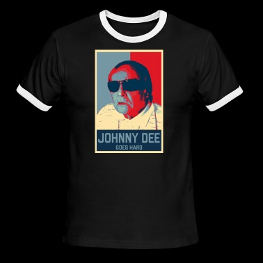 Johnny Dee Youtube - Men's Ringer T-Shirt