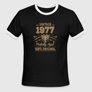 Vintage 1977 Premium Quality Orginal - Men's Ringer T-Shirt