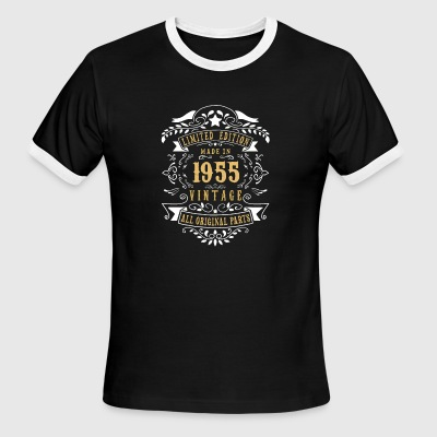 Limited Edition Made In 1955 Vintage Original - Men's Ringer T-Shirt