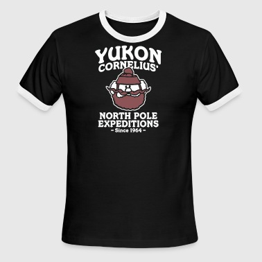 Yukon Cornelius North Pole Expeditions - Men's Ringer T-Shirt