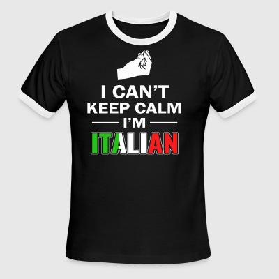 Italian Funny designs - Men's Ringer T-Shirt