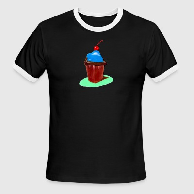 Cupcake, all that cupcake with a cherry on top - Men's Ringer T-Shirt