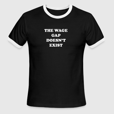 THW WAGE BLACK TEE - Men's Ringer T-Shirt