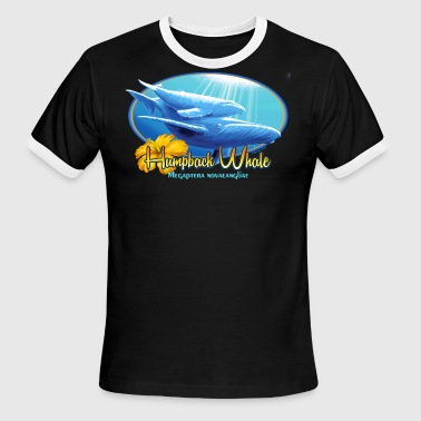 humpback whale - Men's Ringer T-Shirt