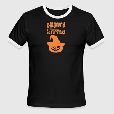 Grams Little Pumpkin Halloween - Men's Ringer T-Shirt