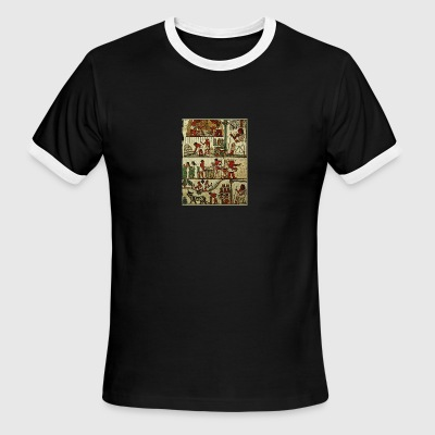 Ancient Egyptian Farming - Men's Ringer T-Shirt