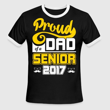 Proud Dad of a Senior MBA College Graduation Gift - Men's Ringer T-Shirt