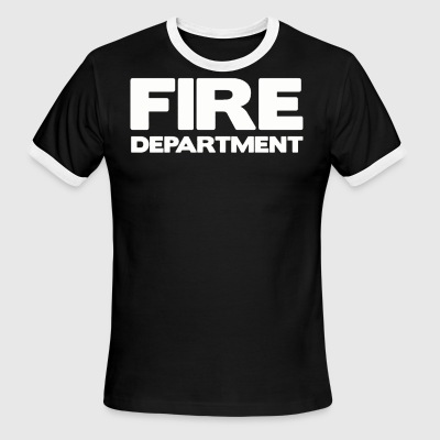 FIRE DEPARTMENT - Men's Ringer T-Shirt