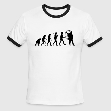 Evolution Traval Mug - Men's Ringer T-Shirt