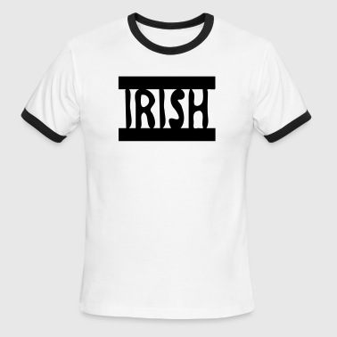 Irish txt   - Men's Ringer T-Shirt