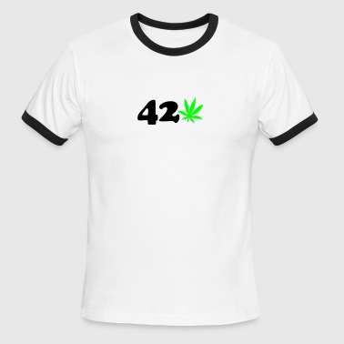 420 For 420 - Men's Ringer T-Shirt