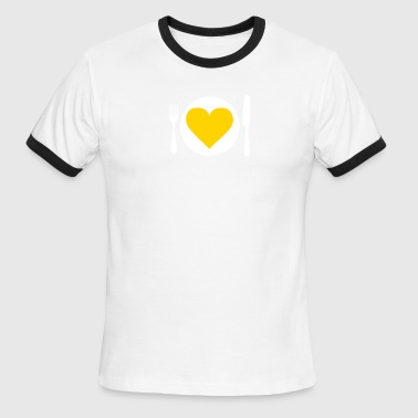 Heart Meal - Men's Ringer T-Shirt