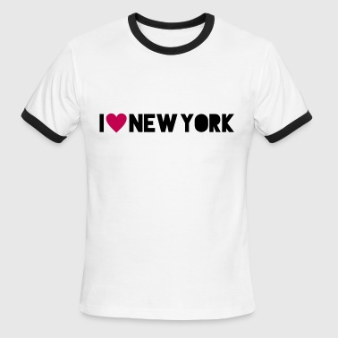 I Love New York - Men's Ringer T-Shirt