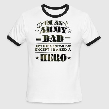 Army Dad tees - Men's Ringer T-Shirt