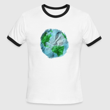 Earth Day Quotes Happy Earth Day 2018 - Men's Ringer T-Shirt