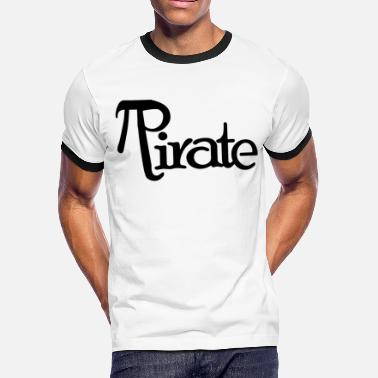 Pirate Day Pi day Pirates - Men's Ringer T-Shirt