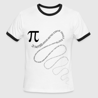 maths - Men's Ringer T-Shirt