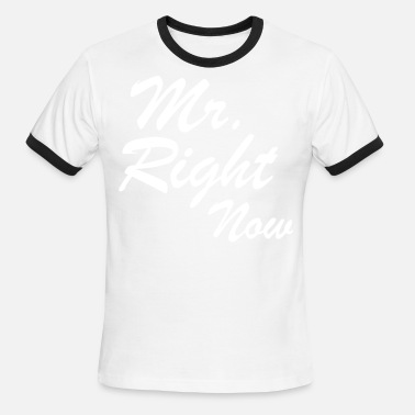 Mr Swag Mr. Right Now - Men's Ringer T-Shirt