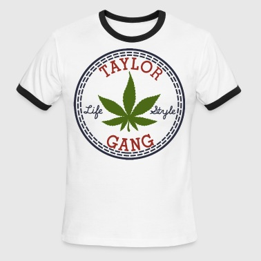 Taylor Gang Lifestyle - stayflyclothing.com - Men's Ringer T-Shirt