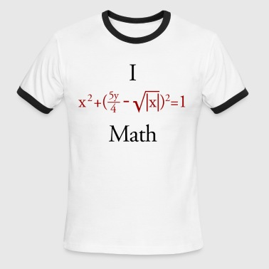 Math - Men's Ringer T-Shirt