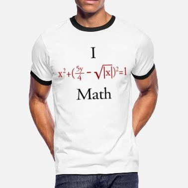 Math Genius Math - Men's Ringer T-Shirt