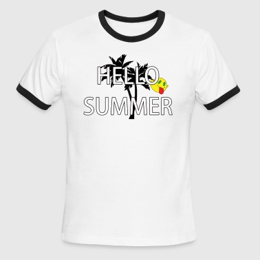 hello summer - Men's Ringer T-Shirt