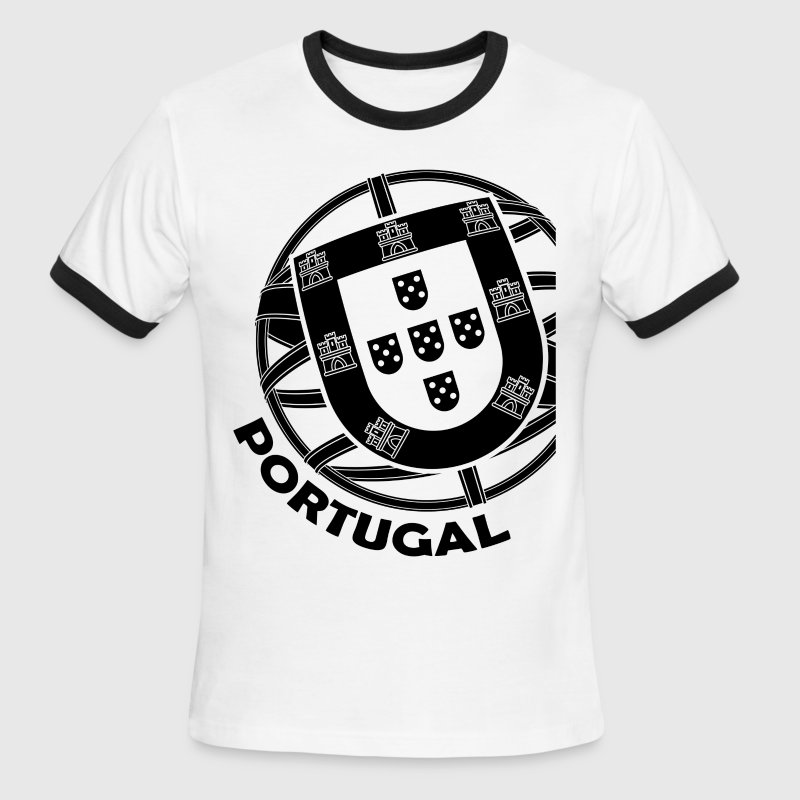 Portugal Coat of Arms - Men's Ringer T-Shirt