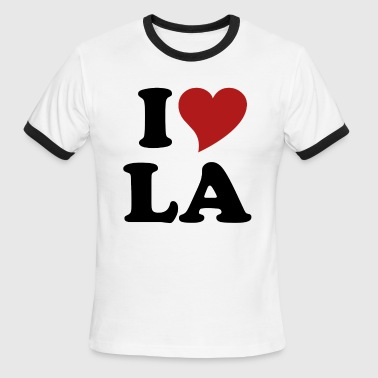 I Love LA - Men's Ringer T-Shirt