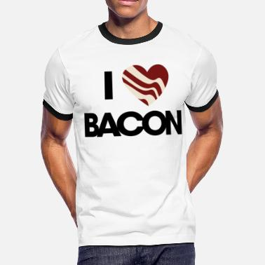 I Love Bacon I love bacon - Men's Ringer T-Shirt