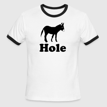 asshole - Men's Ringer T-Shirt